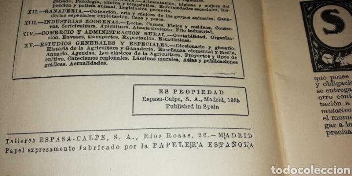 Libros antiguos: Catecismo del agricultor y del ganadero. Arrendamiento de precios rústicos 8, Espasa Calpe 1935. - Foto 3 - 201149908