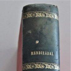 Libros antiguos: DERECHO NATURAL - LUIS MENDIZÁBAL Y MARTÍN - ESTABLECIMIENTO TIPOGRÁFICO LA EDITORIAL, ZARAGOZA 1908. Lote 202401153