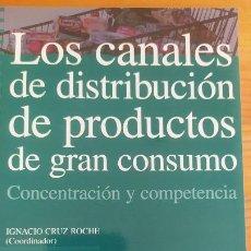 Libros antiguos: LOS CANALES DE DISTRIBUCIÓN DE PRODUCTOS DE GRAN CONSUMO. CONCENTRACIÓN Y COMPETENCIA VVAA. Lote 202569308