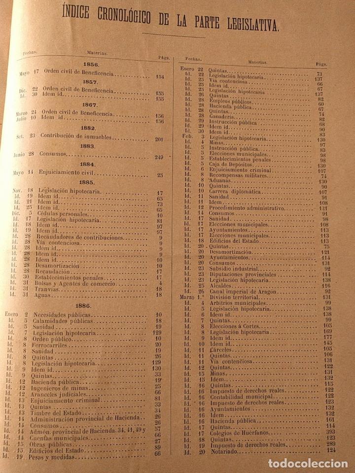 Libros antiguos: El consultor de los ayuntamientos y de los juzgados municipales. Año 34º 1886. Fermín Abella. - Foto 7 - 203296737