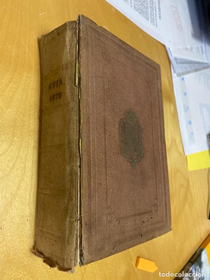 AÑO 1870.- IMPRENTA NACIONAL. GUÍA OFICIAL DE ESPAÑA. (Libros Antiguos, Raros y Curiosos - Ciencias, Manuales y Oficios - Derecho, Economía y Comercio)