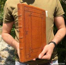 Libros antiguos: 1785 MÁXIMAS SOBRE RECURSOS DE FUERZA Y PROTECCIÓN - DERECHO - FOLIO - PIEL. Lote 204078106