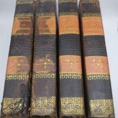 Libros antiguos: DICCIONARIO TEÓRICO PRÁCTICO GEOGRÁFICO HISTÓRICO DE COMERCIO 1840 COMPLETO. Lote 204327053
