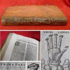 Libros antiguos: AÑO 1595 - 31 CM - LEYES DE TORO - BELLÍSIMO E IMPORTANTE LIBRO DE DERECHO EN ESTADO EXCEPCIONAL. Lote 204732910