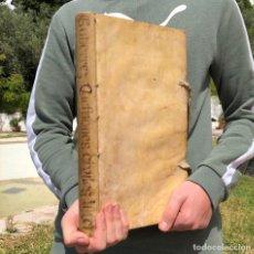Livres anciens: 1661 IOANNIS GUTIERREZ HISPANI - DERECHO CIVIL - PLASENCIA CÁCERES - PERGAMINO - FOLIO. Lote 204979247