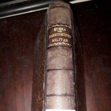 Libros antiguos: LIBRO 2032 COMENTARIOS A LA LEY DE ENJUICIAMENTO MILITAR PEDRO BUESA Y PISON 1886. Lote 205358063