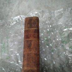 Libros antiguos: 1839. COLECCIÓN DE LAS LEYES, REALES DECRETOS, ÓRDENES TOMO SEXTO. DURANTE LAS GUERRAS CARLISTAS. Lote 205612420