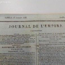 Libros antiguos: CONSTITUCIÓN / ESTATUTO DE BAYONA 1808. Lote 205644555