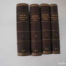 Libros antiguos: CÓDIGOS SOBRE DERECHO CIVIL ESPAÑOL BENITO GUTIERREZ FERNANDEZ MADRID 1881 4 TOMOS. Lote 205804328