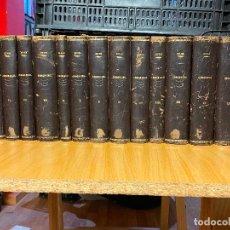 Libros antiguos: 15 TOMOS DEL CODIGO CIVIL DESDE EL TOMO II DE 1892 HASTA EL TOMO XXV DE 1933 Q. MUCIUS SCAEVOLA. Lote 206926946
