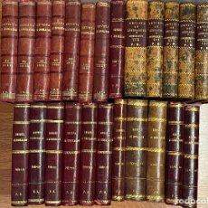 Libros antiguos: 25 TOMOS REVISTA GENERAL DE LEGISLACION Y JURISPRUDENCIA - D. JOSE REUS Y GARCIA - ENTRE 1899 Y 1923. Lote 206930098
