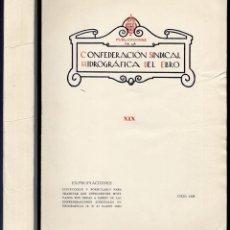 Libros antiguos: C.H.E. TRAMITACIÓN DE EXPEDIENTES DE EXPROPIACIÓN FORZOSA. REAL DECRETO 582 DE 23-V-1928. Lote 207087391