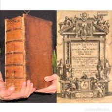 Libros antiguos: 1607 DISPUTATIONUM DE SANCTO MATRIMONII - TOMÁS SÁNCHEZ - CÓRDOBA - LUJURIA. Lote 207115956