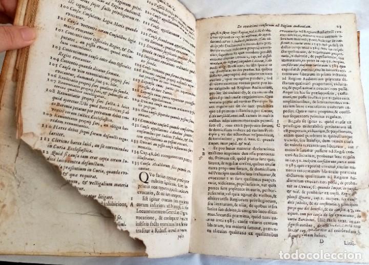 Libros antiguos: PRAXIS CIVILIS NOBILIS - LIBRO DE DERECHO EN LATÍN S XVII - Foto 7 - 207546756