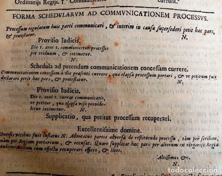 Libros antiguos: PRAXIS CIVILIS NOBILIS - LIBRO DE DERECHO EN LATÍN S XVII - Foto 10 - 207546756