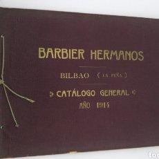 Livros antigos: CATÁLOGO HERMANOS BARBIER 1914 BILBAO Y FRANCIA. Lote 208008186