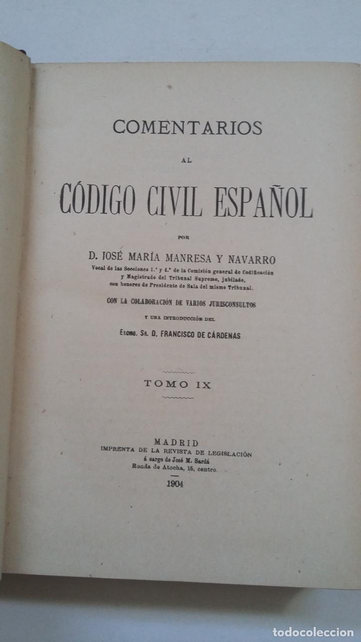98157 Pdf Comentarios Al Codigo Civil Libros