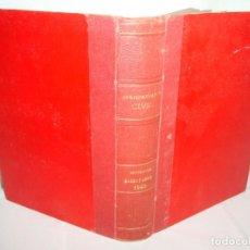 Libros antiguos: LIBRO DE JURISPRUDENCIA CIVIL SENTENCIAS MARZO Y ABRIL DE 1943. Lote 210040902