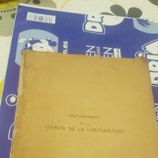 Libros antiguos: DESCUBRIMIENTO DE LA CIENCIA DE LA CONTABILIDAD BONIFACIO GONZÁLEZ 1887. Lote 210192066