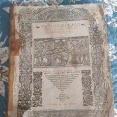 Livros antigos: 1536. DECRETALES. NICOLO DE TUDESCHI. GÓTICO. POST INCUNABLE. FOLIO.. Lote 210676281
