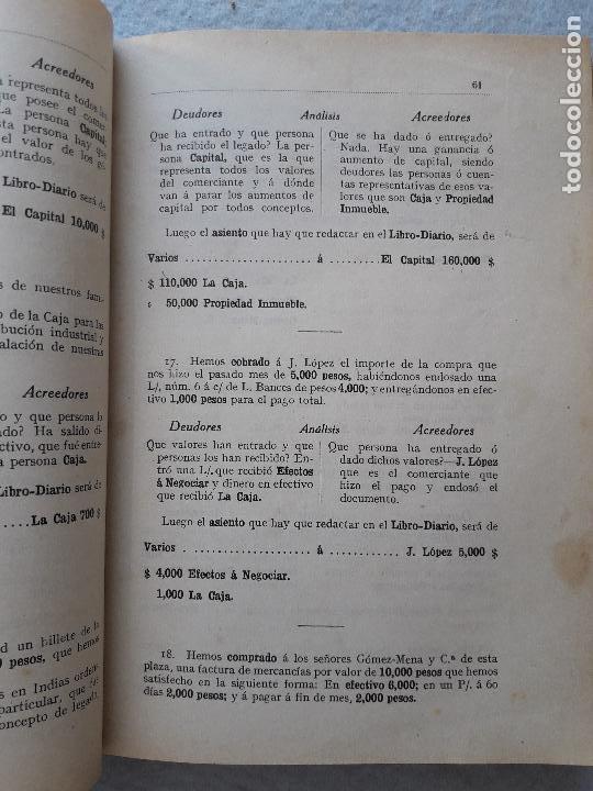 Libros antiguos: Tratado Universal de Teneduría de Libros. Constantino de Horta y Prado. Año 1928. - Foto 3 - 212078247