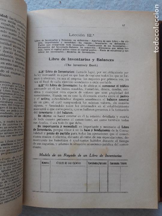 Libros antiguos: Tratado Universal de Teneduría de Libros. Constantino de Horta y Prado. Año 1928. - Foto 4 - 212078247