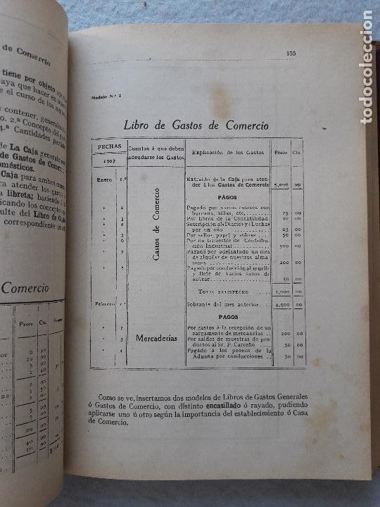 Libros antiguos: Tratado Universal de Teneduría de Libros. Constantino de Horta y Prado. Año 1928. - Foto 6 - 212078247