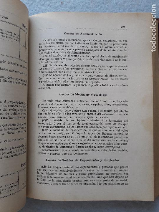 Libros antiguos: Tratado Universal de Teneduría de Libros. Constantino de Horta y Prado. Año 1928. - Foto 10 - 212078247