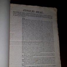 Libros antiguos: REAL DECRETO ESTABLECIENDO LA SUPERINTENDENCIA DE LA POLICÍA DEL REINO Y REGLAMENTO - 1824. Lote 214048226