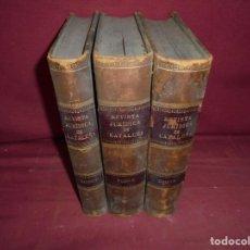Libros antiguos: MAGNIFICOS 3 TOMOS ANTIGUOS DE REVISTA JURIDICA DE CATALUÑA. Lote 214465823