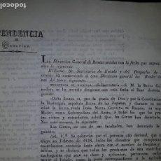 Libros antiguos: INSTRUCCIÓN PARA LA CONTRIBUCIÓN DE DIEZMOS DE 1837. Lote 214572798