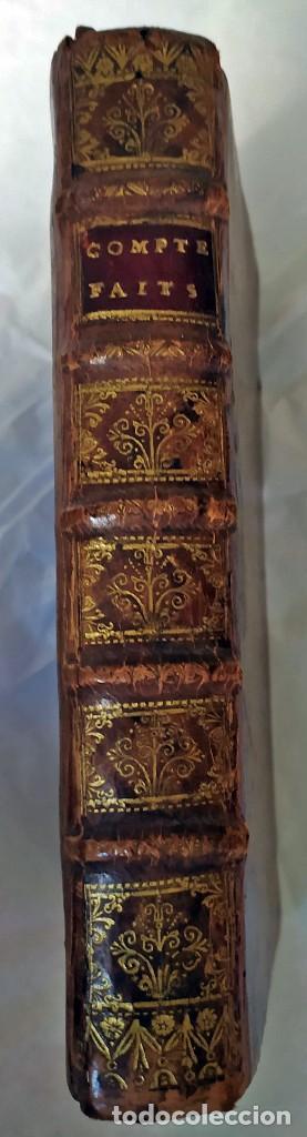 Libros antiguos: AÑO 1703: LAS CUENTAS HECHAS. TARIFA GENERAL DE MONEDAS.LIBRO DE ECONOMÍA CON FRONTISPICIO. - Foto 3 - 203062990