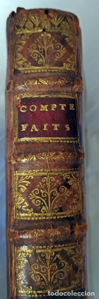 Libros antiguos: AÑO 1703: LAS CUENTAS HECHAS. TARIFA GENERAL DE MONEDAS.LIBRO DE ECONOMÍA CON FRONTISPICIO. - Foto 4 - 203062990
