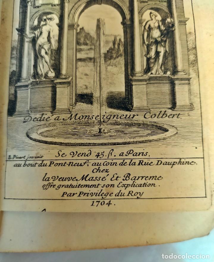 Libros antiguos: AÑO 1703: LAS CUENTAS HECHAS. TARIFA GENERAL DE MONEDAS.LIBRO DE ECONOMÍA CON FRONTISPICIO. - Foto 7 - 203062990