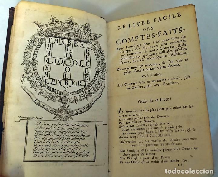 Libros antiguos: AÑO 1703: LAS CUENTAS HECHAS. TARIFA GENERAL DE MONEDAS.LIBRO DE ECONOMÍA CON FRONTISPICIO. - Foto 9 - 203062990