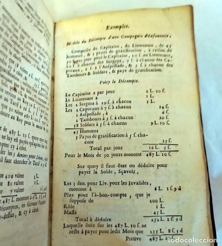 Libros antiguos: AÑO 1703: LAS CUENTAS HECHAS. TARIFA GENERAL DE MONEDAS.LIBRO DE ECONOMÍA CON FRONTISPICIO. - Foto 14 - 203062990