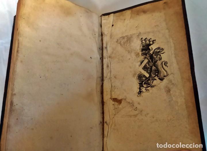Libros antiguos: AÑO 1703: LAS CUENTAS HECHAS. TARIFA GENERAL DE MONEDAS.LIBRO DE ECONOMÍA CON FRONTISPICIO. - Foto 15 - 203062990