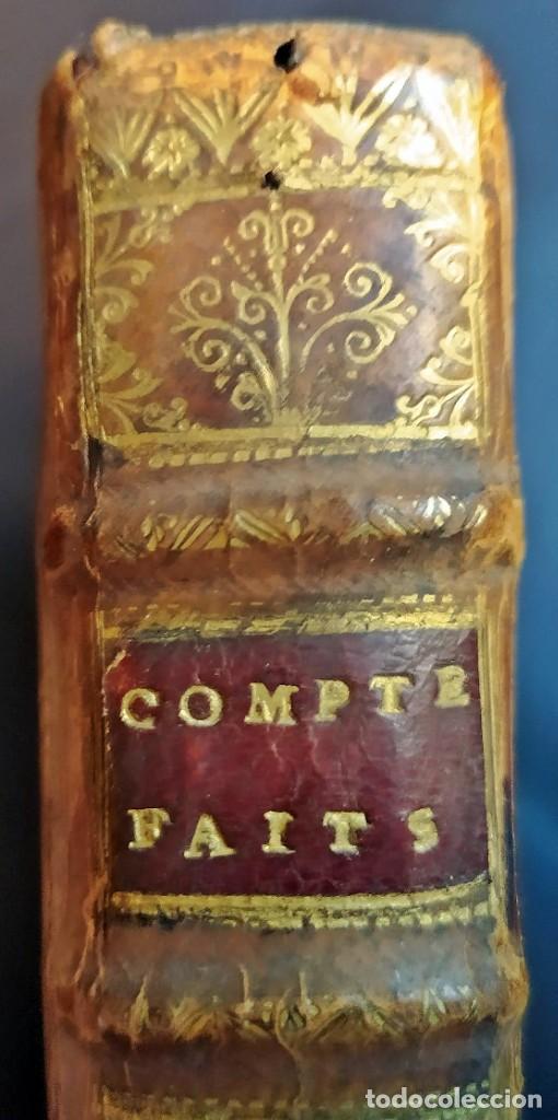 Libros antiguos: AÑO 1703: LAS CUENTAS HECHAS. TARIFA GENERAL DE MONEDAS.LIBRO DE ECONOMÍA CON FRONTISPICIO. - Foto 17 - 203062990