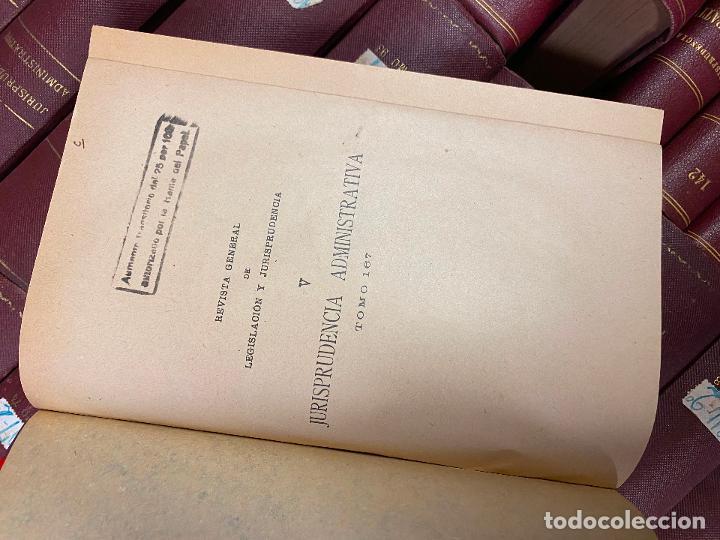 Libros antiguos: 43 TOMOS JURISPRUDENCIA ADMINISTRATIVA - Foto 3 - 216661476