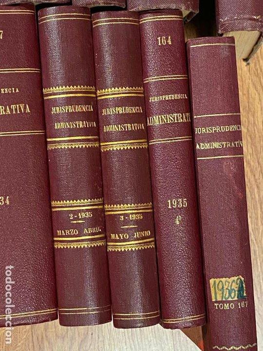 Libros antiguos: 43 TOMOS JURISPRUDENCIA ADMINISTRATIVA - Foto 6 - 216661476
