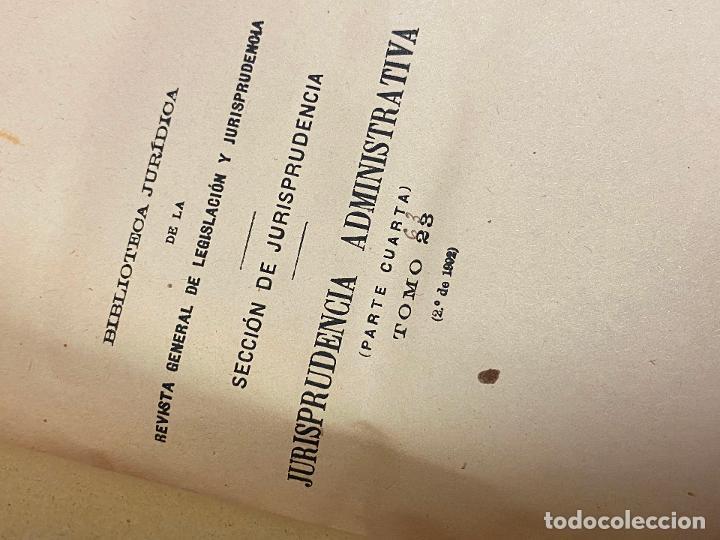 Libros antiguos: 43 TOMOS JURISPRUDENCIA ADMINISTRATIVA - Foto 7 - 216661476