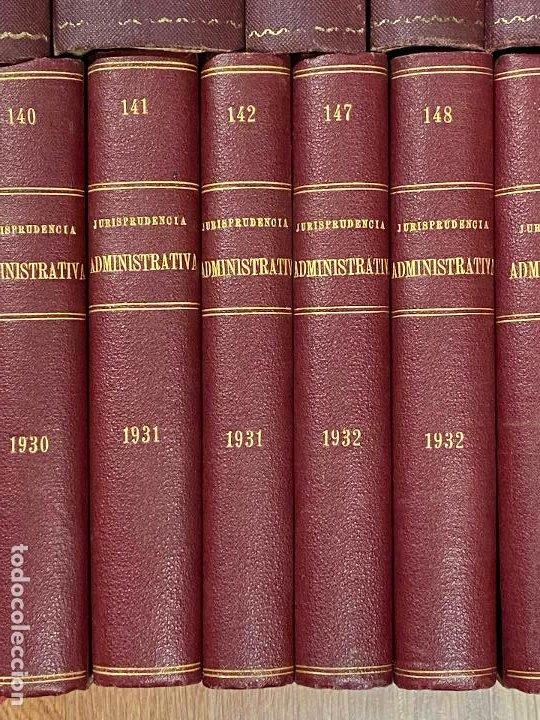Libros antiguos: 43 TOMOS JURISPRUDENCIA ADMINISTRATIVA - Foto 9 - 216661476