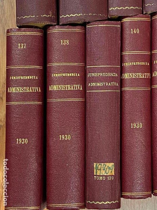 Libros antiguos: 43 TOMOS JURISPRUDENCIA ADMINISTRATIVA - Foto 10 - 216661476