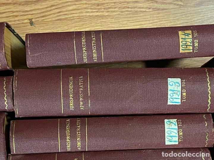 Libros antiguos: 43 TOMOS JURISPRUDENCIA ADMINISTRATIVA - Foto 11 - 216661476