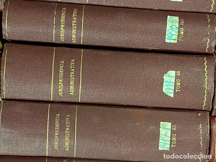 Libros antiguos: 43 TOMOS JURISPRUDENCIA ADMINISTRATIVA - Foto 12 - 216661476