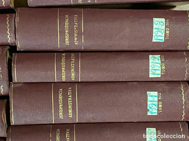 Libros antiguos: 43 TOMOS JURISPRUDENCIA ADMINISTRATIVA - Foto 13 - 216661476