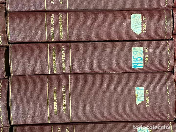Libros antiguos: 43 TOMOS JURISPRUDENCIA ADMINISTRATIVA - Foto 14 - 216661476