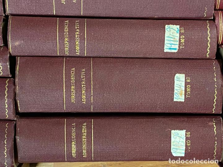 Libros antiguos: 43 TOMOS JURISPRUDENCIA ADMINISTRATIVA - Foto 15 - 216661476