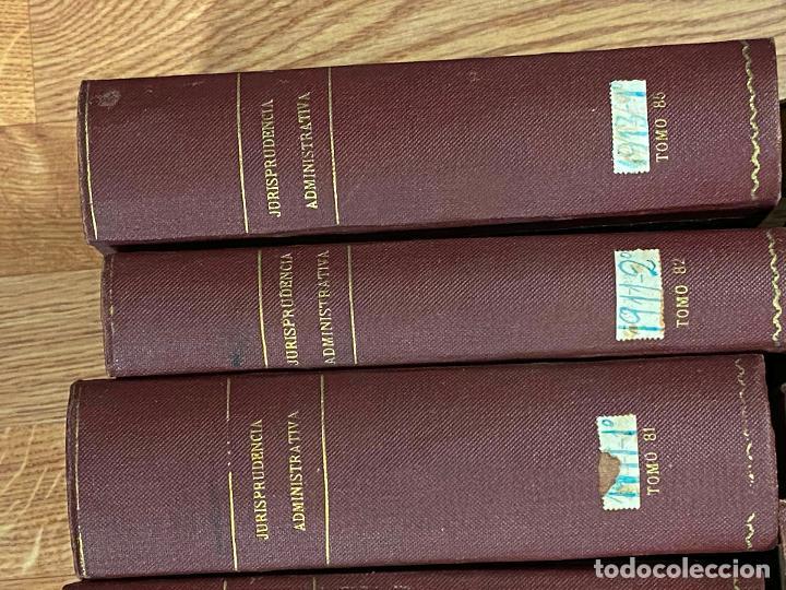 Libros antiguos: 43 TOMOS JURISPRUDENCIA ADMINISTRATIVA - Foto 16 - 216661476