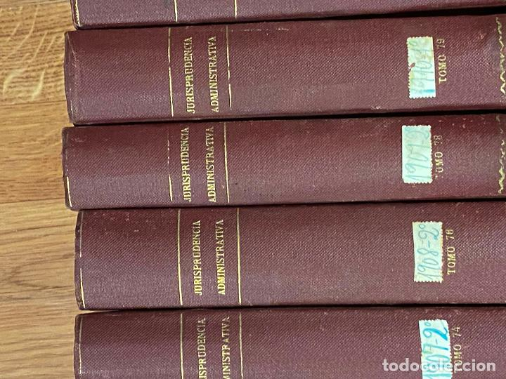 Libros antiguos: 43 TOMOS JURISPRUDENCIA ADMINISTRATIVA - Foto 17 - 216661476